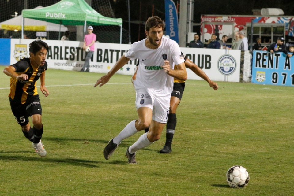 <span><strong>Elliot Collier and Memphis 901 FC were eliminated from playoff contention Friday with a 2-0 loss in Charleston.&nbsp;</strong>(901FC)</span>