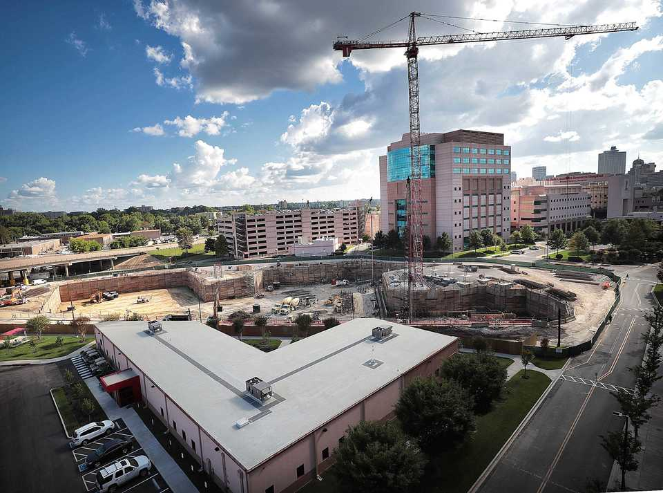 <strong>While St. Jude constructs what will be the largest building on their Memphis campus, the research hospital looks to build its reputation in the health care community by attracting top researchers to fill it.</strong> (Jim Weber/Daily Memphian)