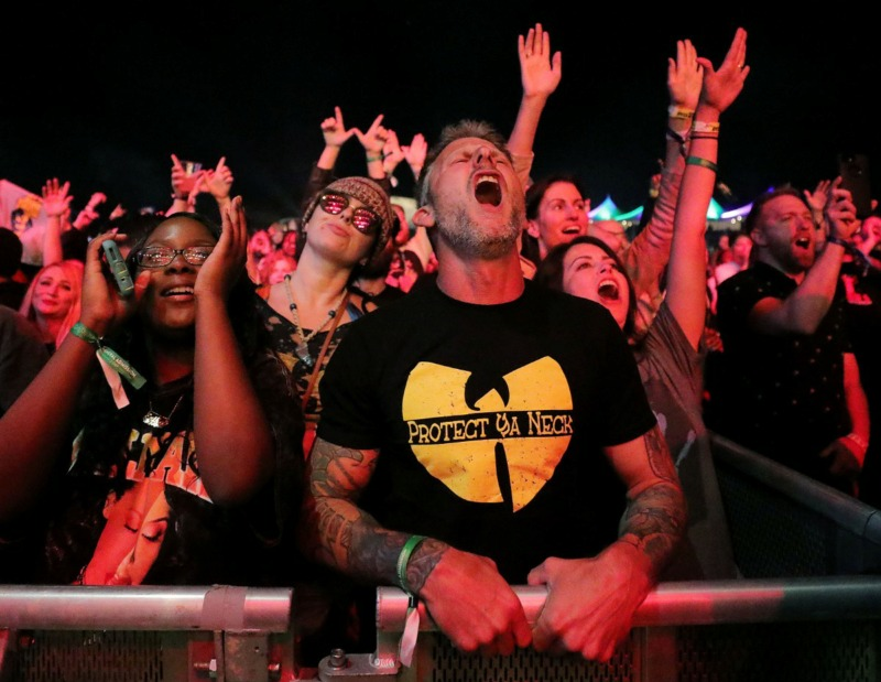 <strong>Wu-Tang Clan proved to be a fan favorite at the third annual Mempho Music Festival at Shelby Farms on Oct. 19, 2019.</strong> (Patrick Lantrip/Daily Memphian)
