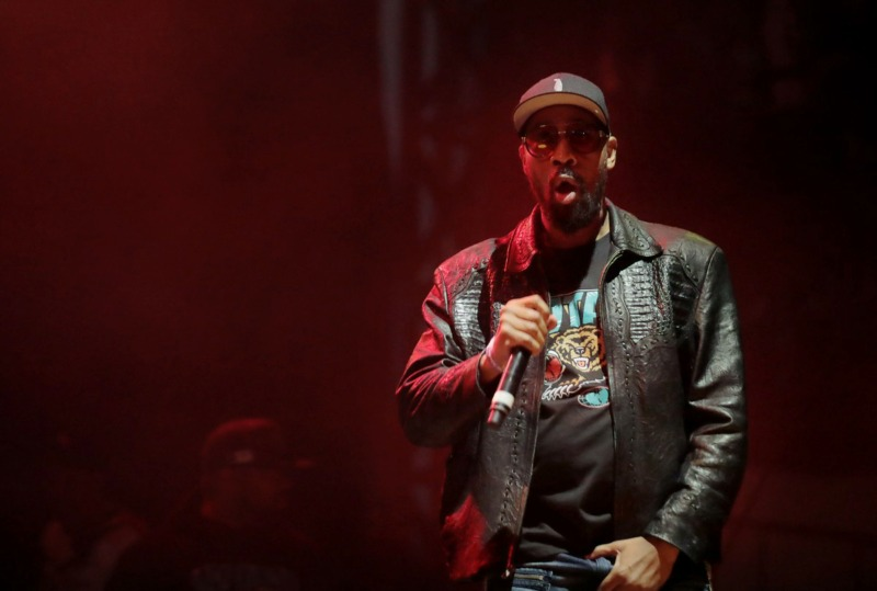 <strong>Wu-Tang Clan performs at the third annual Mempho Music Festival at Shelby Farms on Oct. 19, 2019.</strong> (Patrick Lantrip/Daily Memphian)