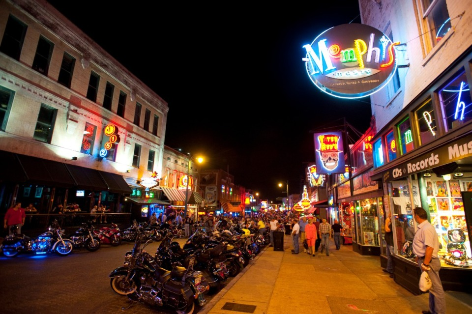 <strong>GameDay on Beale? Well, of course.</strong> (File/Daily Memphian)