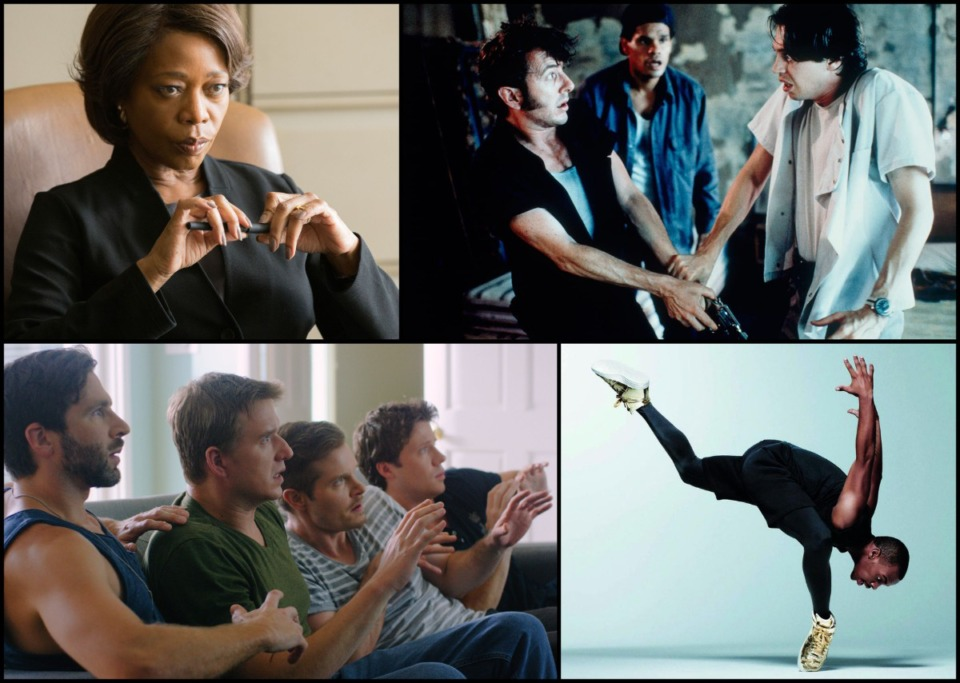 """<strong>Alfre Woodard in """"Clemency"""" (clockwise from top left), Jim Jarmusch's """"Mystery Train,"""" Memphis jookin&rsquo; hero Lil Buck, and """"Cold Feet"""" from the Memphis filmmaking duo of Brad Ellis and Allen C. Gardner highlight the 2019 edition of the Indie Memphis Film Festival.</strong>&nbsp;(Courtesy of Indie Memphis)"""