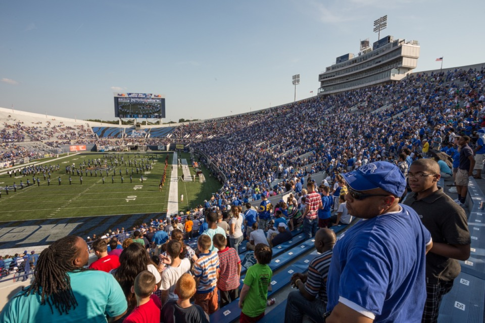 <strong>The Liberty Bowl will probably be jam-packed again Saturday, as it was in the 2013 season opener.</strong> (File/Daily Memphian)