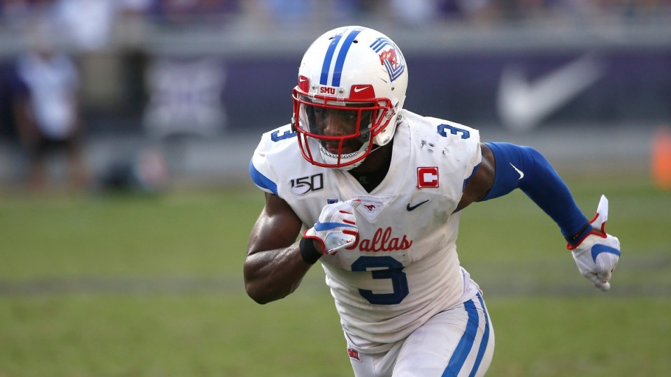 <strong>SMU wide receiver James Proche has 61 receptions for 692 yards and nine thouchdowns this season.</strong> (Ron Jenkins/AP)