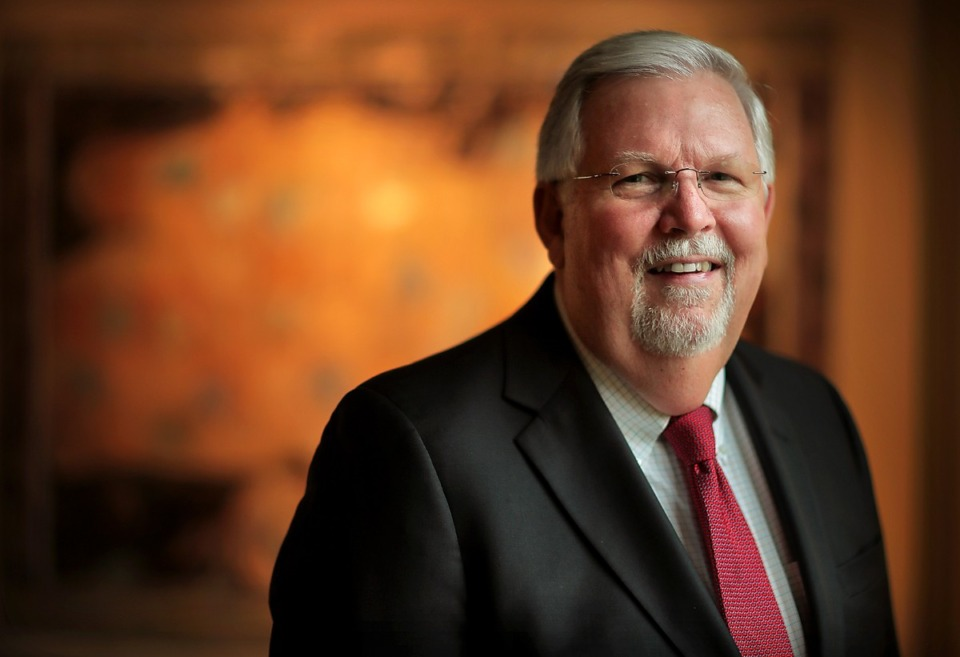 <strong>Senior Vice President and Trust Real Estate Manager for&nbsp;<span>First Horizon National Corp.</span> Allen Paine is celebrating 50 years at the&nbsp;financial institution. Paine is set to&nbsp;retire in December to spend more time with his family.&nbsp;</strong>(Jim Weber/Daily Memphian)