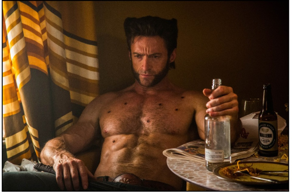 "<strong>We now know that Wolverine (Hugh Jackman) loves him some Rendezvous. Let's hope there are some ribs just off camera to go with that whiskey in this scene from ""X-Men: Days of Future Past."" (</strong>Alan Markfield/Twentieth Century Film Corp.)"