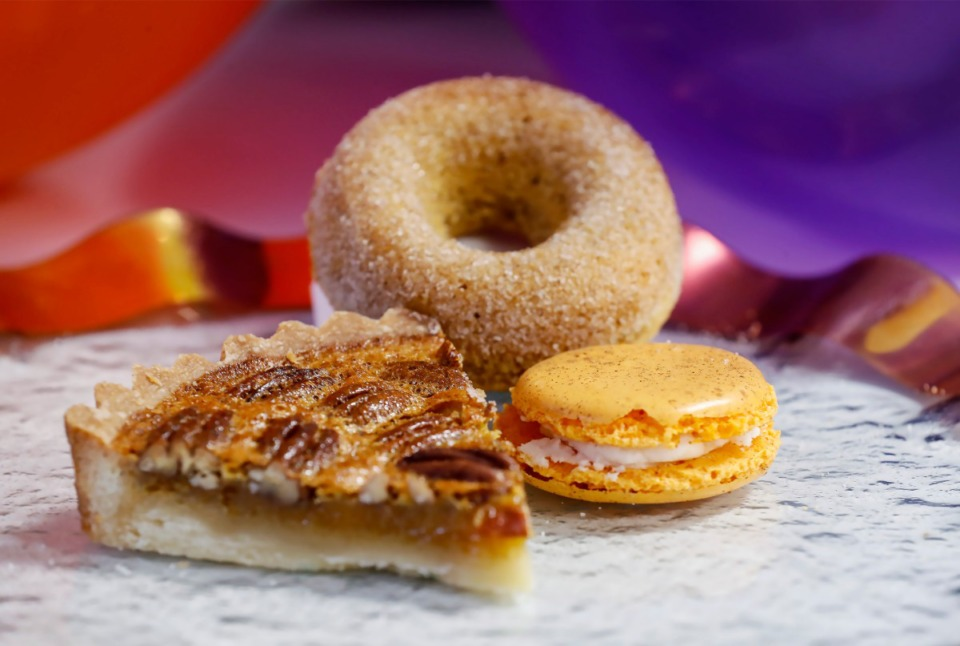 <strong>Prima&rsquo;s Bakery will offer a dessert flight consisting of pecan pie tartlet, apple spice doughnut and pumpkin spice macaron during Downtown Dining Week, which runs Sunday, Nov. 10-17.&nbsp;</strong> (Mark Weber/Daily Memphian)