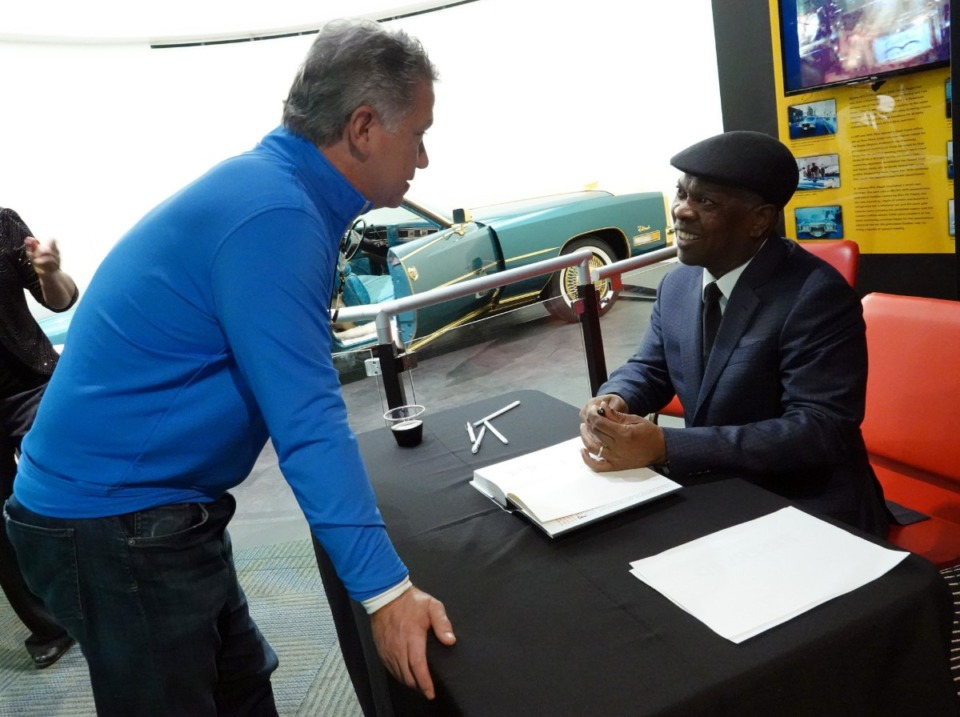 <strong>Booker T. Jones signs his new memoir, &ldquo;Time Is Tight: My Life, Note by Note,&rdquo; at Stax Museum in Memphis on Nov. 1.</strong> (Karen Pulfer Focht/Special to the Daily Memphian)