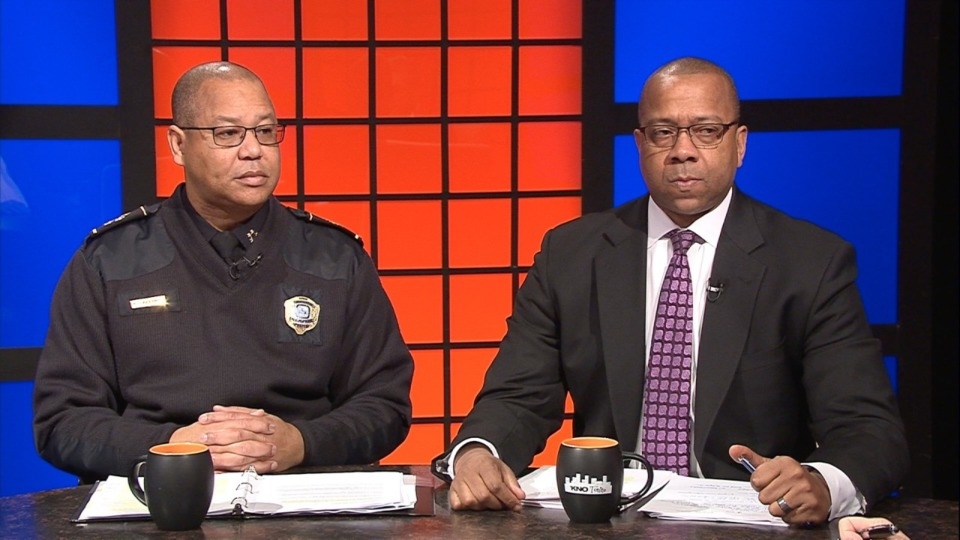 <span><strong>Michael Rallings, Director of the Memphis Police Department, and Bruce McMullen, Chief Legal Officer for Memphis, discuss the 1978 consent decree with Bill Dries, reporter for The Daily Memphian, and host Eric Barnes.</strong></span>