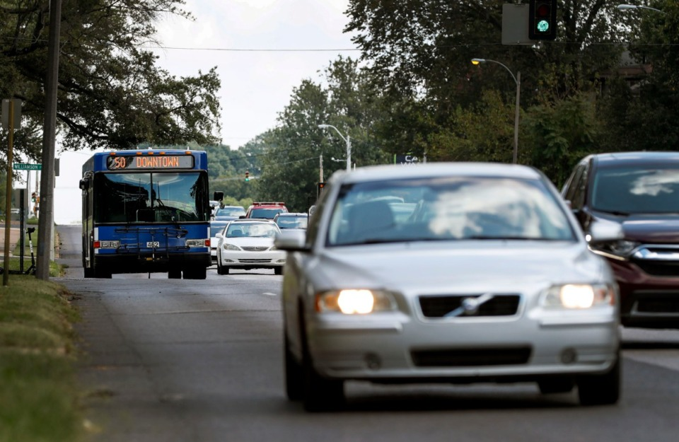 <strong>Debate continues on creating a high-frequency eight-mile bus corridor between Downtown and the University of Memphis.</strong> (Mark Weber/Daily Memphian)