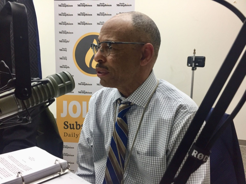 <strong>Ken Washington, deputy administrator over residential appraisal in the assessor's office, above, was joined by Shelby County Property Assessor Melvin Burgess (not pictured) to talk about Orange Mound in our podcast.&nbsp;</strong>
