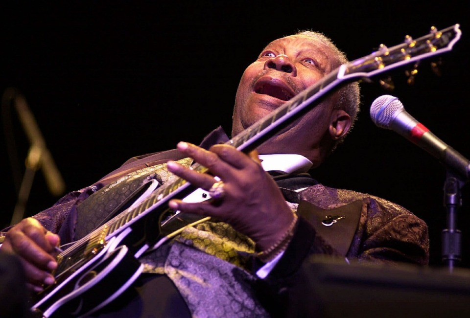 """<strong>B.B. King's cover of """"3 O'Clock Blues""""&nbsp; will be part of the Blues Hall of Fame's 41st class.</strong> (Harry Scull Jr./AP)"""