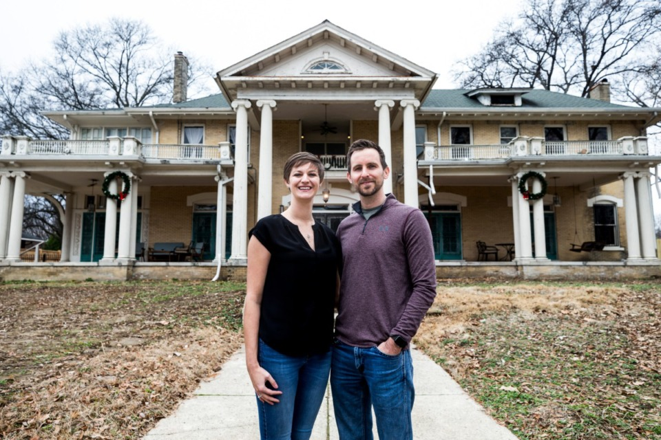 <strong>Mallory and Michael Seeker recently acquired the house at 227 Stonewall in Midtown. </strong>(Ziggy Tucker/Daily Memphian)