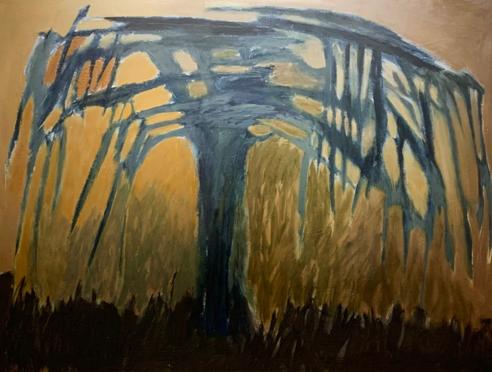 """<strong>Veda Reed's """"Black Tree"""" is one of more than 500 art works Memphis College of Art will sell at an auction and sale next month.</strong> (Courtesy of MCA)"""
