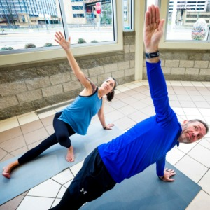 <strong>Misty and Troy Aucoin enjoy yoga and other fitness activities after both undergoing gastric bypass surgery. Misty, 46, has lost 90 pounds. Troy, 51, has lost 106 pounds. </strong>(Ziggy Mack/Special to Daily Memphian)