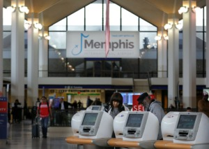 <strong>The $214 million terminal makeover at Memphis International Airport is moving the air carriers to what is now B concourse. The concourse is scheduled to be completed and open in the late spring of 2021.</strong> (Patrick Lantrip/Daily Memphian)