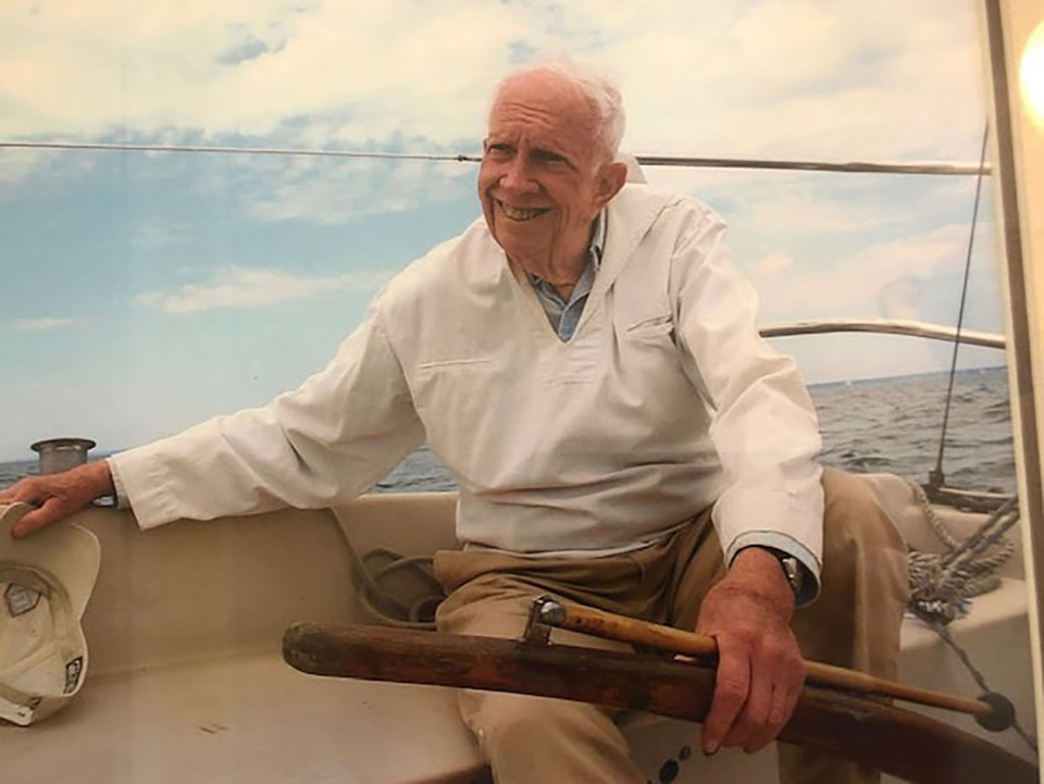 <strong>Evan Calkins lived 99 years and six months.&nbsp;He would dive off canoes to catch turtles as they swam to the deep of a lake. He would take small sailboats out in the highest winds.</strong> (Photo courtesy of Geoff Calkins)