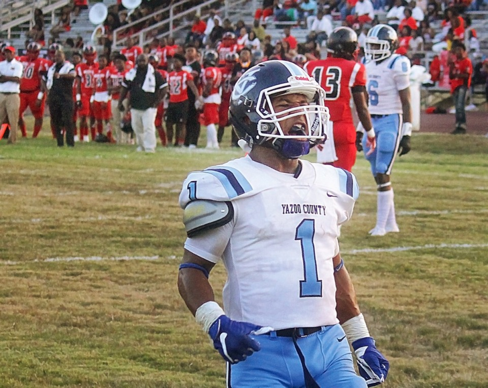 <strong>Kory Gainwell, the younger brother of Tiger running back Kenneth Gainwell, played both running back and safety at Yazoo County High School.&nbsp;</strong>(File photo/Jason Patterson/The Yazoo Herald)
