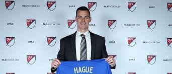 Jimmy Hague, shown here when he was drafted by FC Cincinnati, has signed with 901 FC, the team announced on Tuesday. (Photo: Courtesy of FC Cincinnati)
