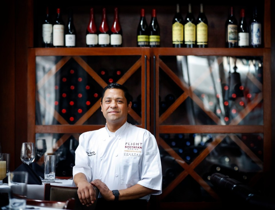 <strong>Eduardo Murillo is the corporate executive chef for Flight Restaurant Group. Murillo started selling tacos with his mother at age 6 and worked his way from dishwasher through the ranks without ever finishing junior high school.</strong> (Mark Weber/Daily Memphian)