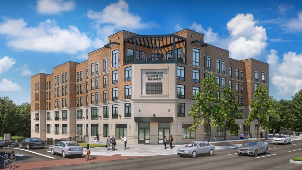 <strong>Spence Ray, vice president of McNeill Commercial Real Estate is asking for use of a second hotel at Thornwood. In March he hopes to ask for approval of a 114-room Marriott TownePlace Suites.&nbsp;</strong>(<em>Submitted by Spence Ray</em>)