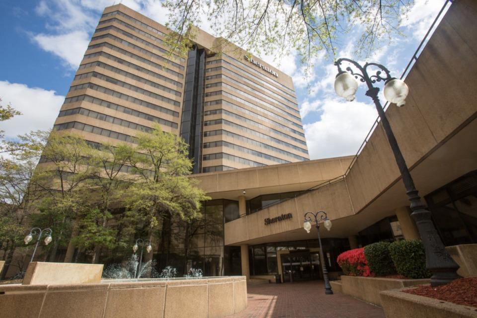 <strong>Downtown Sheraton Hotel</strong> (Daily Memphian file photo)