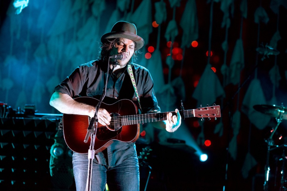<strong>Wilco frontman Jeff Tweedy has been a frequent visitor to stages in and around Memphis through the decades, performing with former band Uncle Tupelo, Wilco and as a solo performer.</strong> (Bob Bayne/Daily Memphian file)