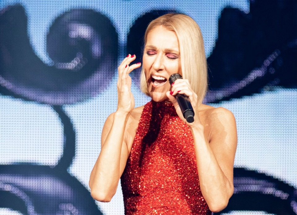 <strong>Celine Dion's World Courage Tour stops at FedExForum Sunday, Feb. 9.</strong> (Jacques Boissinot/The Canadian Press via AP)