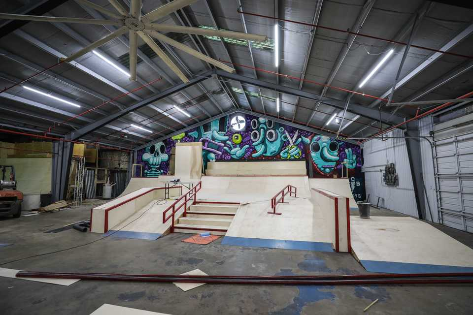 <strong>The owners of Society Skatepark &amp; Coffee purchased a skatepark for sale in Atlanta, deconstructed it, shipped it back to Memphis on eight semi-trucks and rebuilt the park at Society Memphis.</strong> (Submitted)