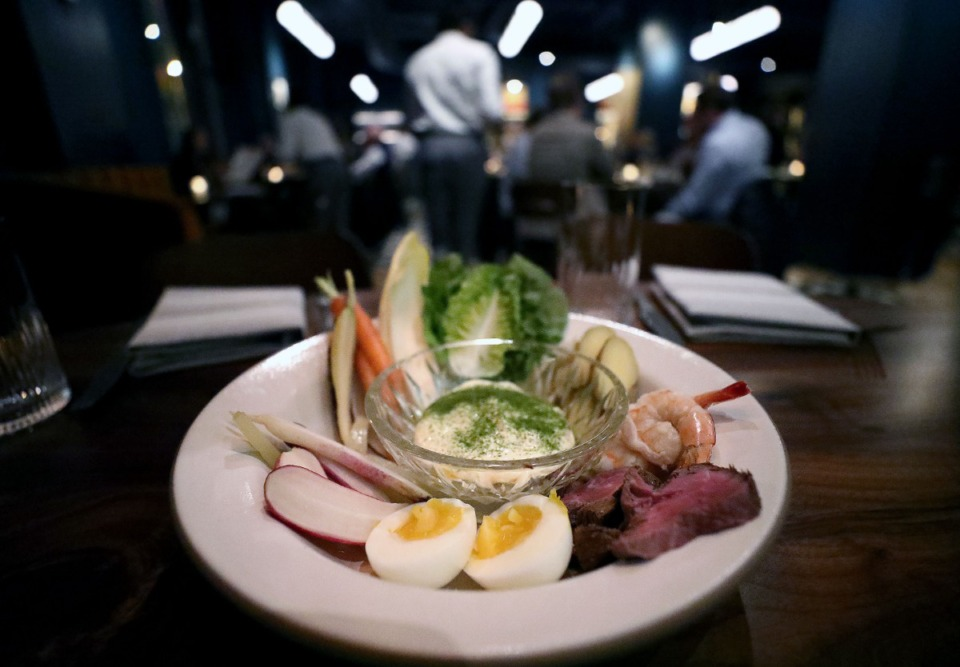 <strong>Bishop, the Enjoy AM restaurant inside Central Station Hotel, launches its lunch menu on Feb. 10 and the grand aioli makes the cut.</strong>&nbsp; (Patrick Lantrip/Daily Memphian file)