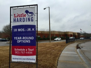 <strong>Charter school Memphis School of Excellence has purchased Harding Academy's campus in Cordova.</strong> (Tom Bailey/The Daily Memphian)