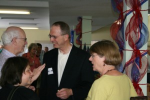 <strong>Dr. George Flinn (center) is&nbsp;making a sixth run for Congress, and he's willing to spend big in hopes of ending D.C.&rsquo;s &ldquo;drama&rdquo; and putting policy to the nation's biggest problems at the forefront.</strong> (Daily Memphian file)