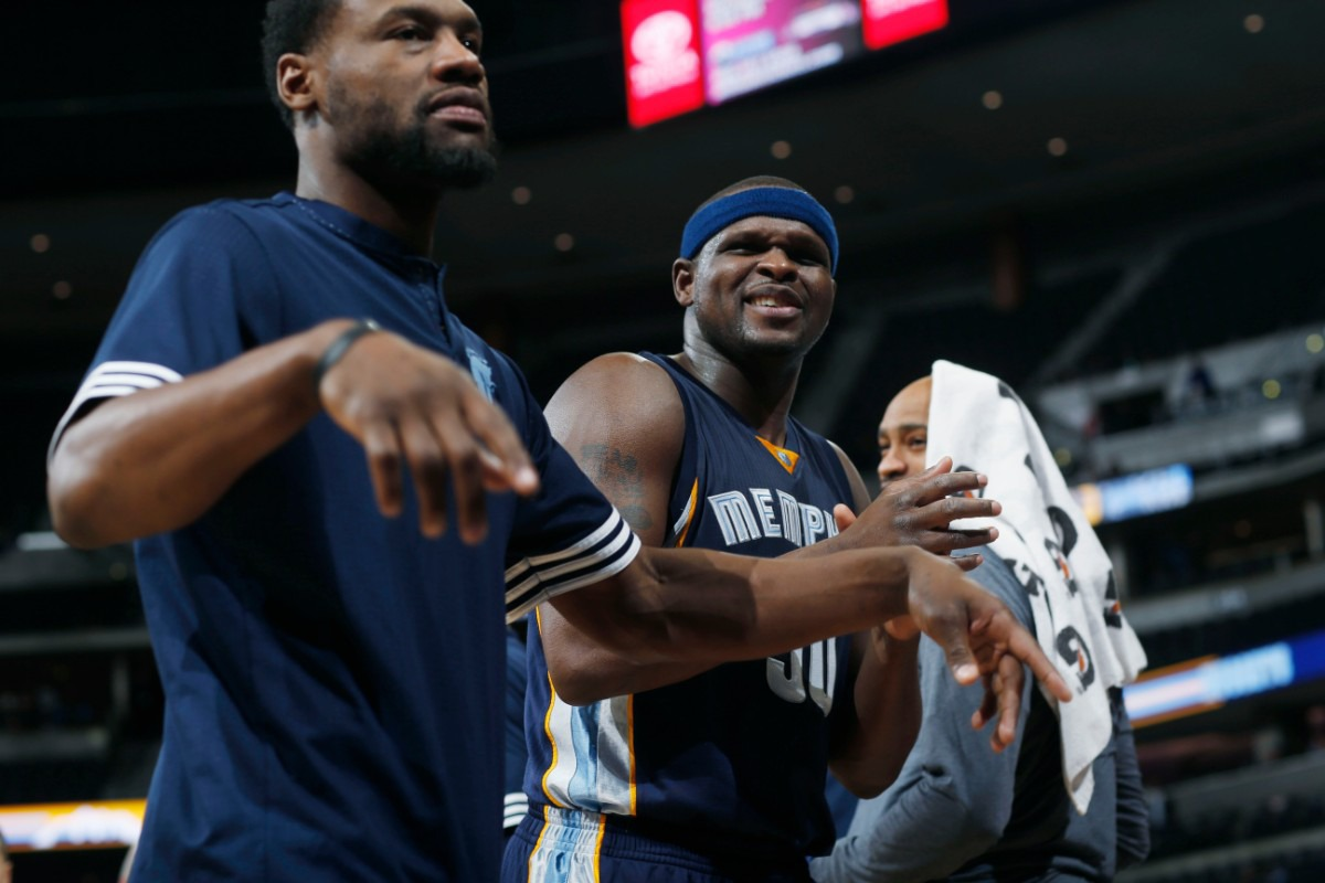 The Heavy and the Hype Man: Zach Randolph and Tony Allen together again with the Grizzlies - The Daily Memphian
