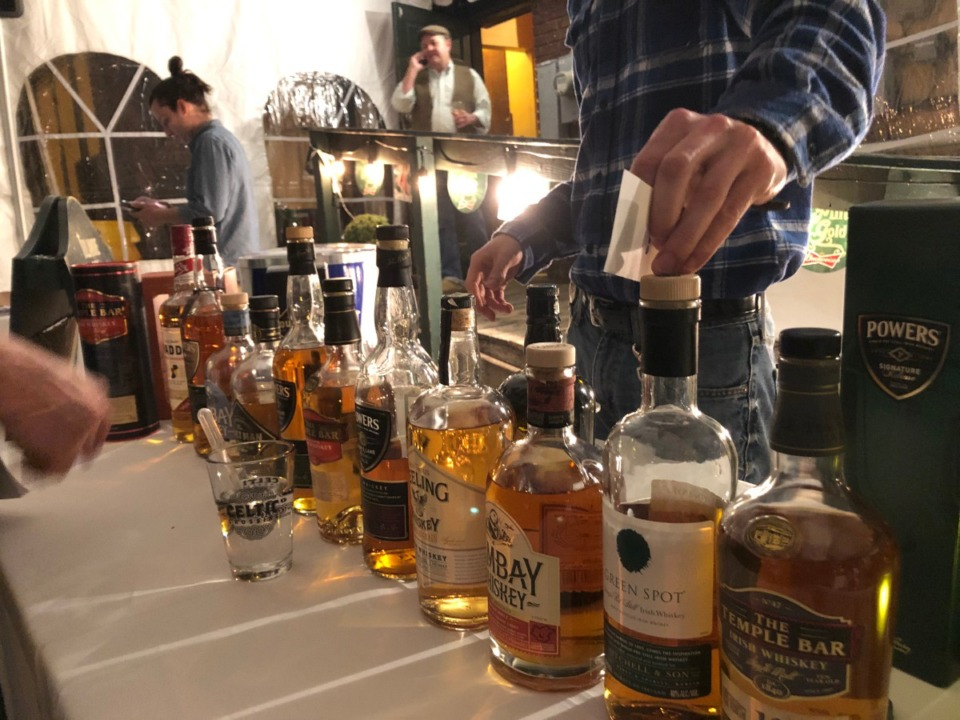 <strong>Last year's whiskey tasting with Celtic Crossing and The Daily Memphian featured Irish whiskey; this year, the theme is 'Whiskeys of the World.'</strong> (Jennifer Biggs: Daily Memphian file)