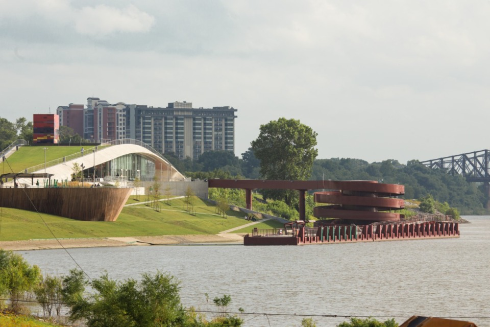 <strong>Viking cruise line representeatives have spoken to dock owners up and down the Mississippi, including operators of Beale Street Landing, about docking agreements.</strong> (Daily Memphian file)