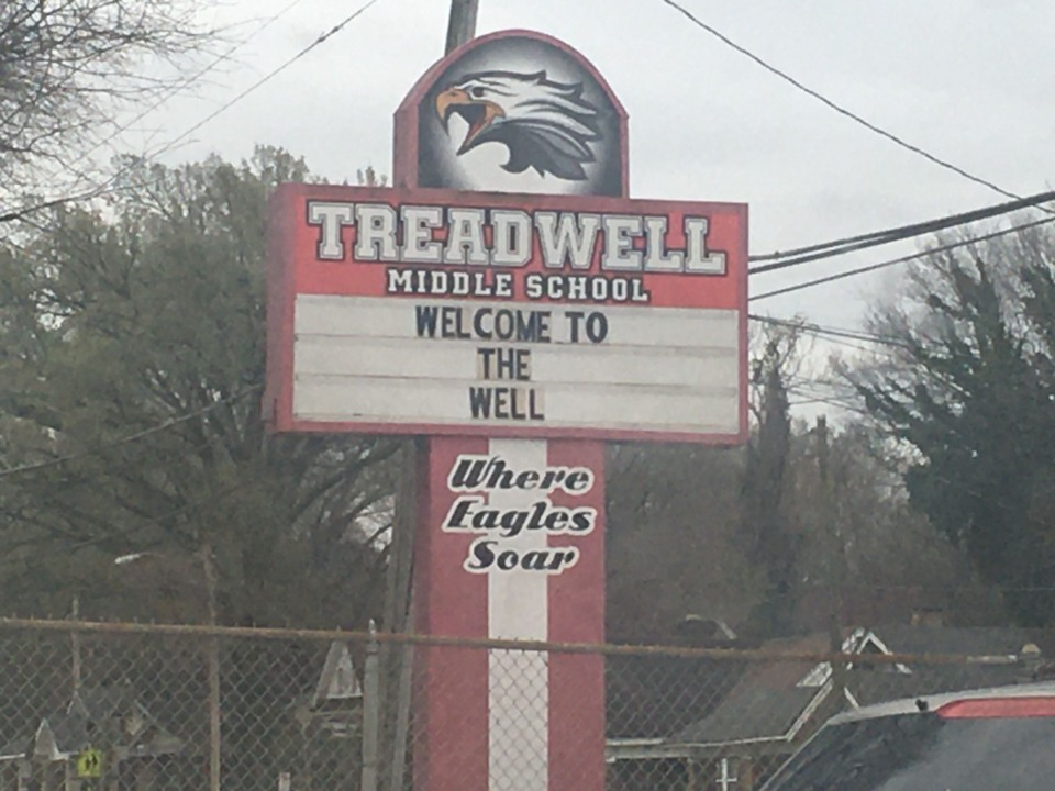 <strong>Treadwell parents signed their children out of school on Monday, March 9, after learning a district employee was in contact with the first person in Shelby County to be diagnosed with the novel coronavirus.&nbsp;</strong>(Yolanda Jones/Daily Memphian)