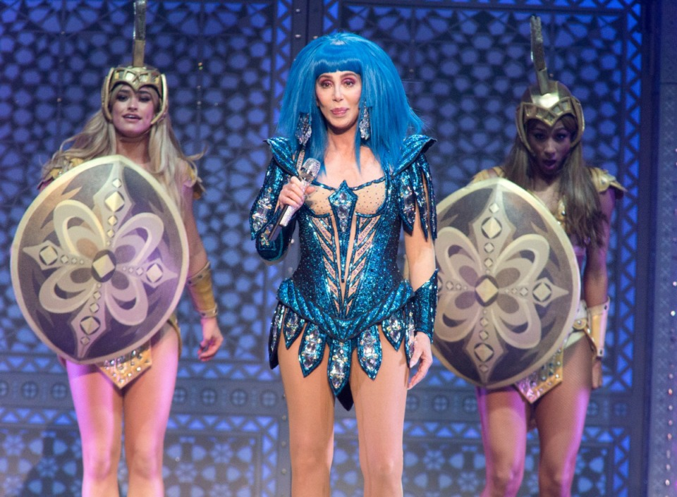 """<strong>Cher, performing during her """"Here We Go Again Tour"""" on Dec. 6, 2019, in Philadelphia, has canceled her Memphis appearance scheduled for Monday, March 16, at FedExForum.</strong>&nbsp;(Owen Sweeney/Invision/Associated Press)"""