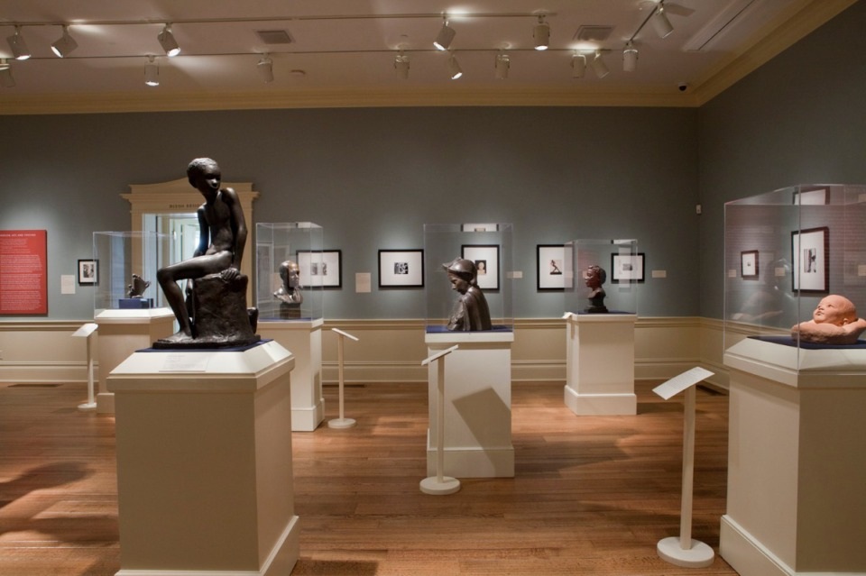 <strong>Nearly 50 works of sculpture by Augusta Savage are on display at the Dixon Gallery and Gardens' exhibition &ldquo;Augusta Savage: Renaissance Woman.&rdquo; The exhibit, which ends March 22, also includes&nbsp;photographs of Savage's lost works, and pieces by her close contemporaries and students.</strong>&nbsp;(Photo courtesy of Dixon Gallery and Gardens)