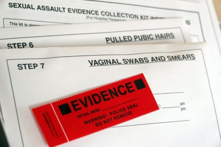 <strong>This sample rape kit belongs to activist Meaghan Ybos, who was attacked in 2003 by a serial rapist. Thousands of rape kits went untested in Memphis for decades. Many kits held evidence that if tested might have stopped repeat offenders from attacking additional women.</strong> (Karen Pulfer Focht/Special to The Daily Memphian)