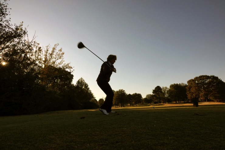<strong>Debby Dalhoff has found peace and a loving community in the game of golf.</strong> (Karen Pulfer Focht/Special to The Daily Memphian)