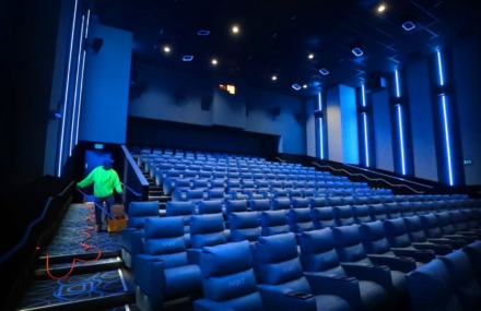 <strong>Theaters including Malco Powerhouse in Downtown Memphis will be empty for the time being under expanded business closings announced by Mayor Jim Strickland on Saturday, March 21.</strong> (Jim Weber/Daily Memphian file)
