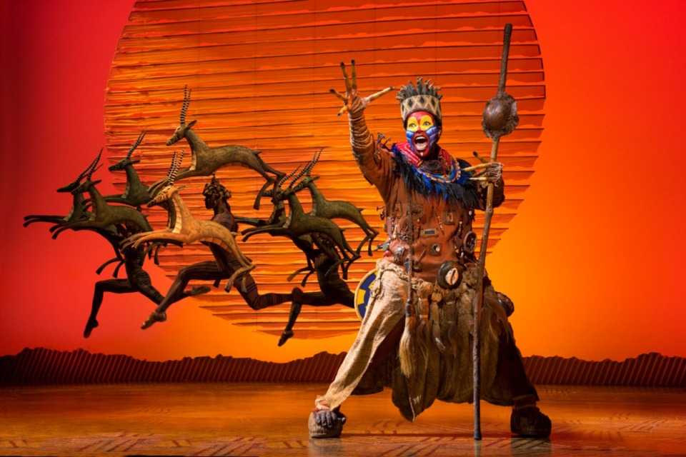 "<strong>""Disney's The Lion King"" will be at the Orpheum Oct.21-Nov. 8, 2020.</strong> (Courtesy Orpheum Theatre)"