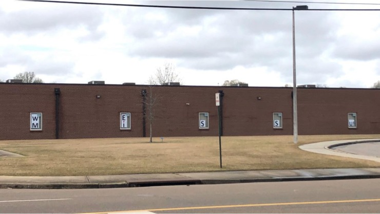 "<strong>A sign in windows at Crosswind Elementary spells ""We Miss You.""&nbsp;</strong>(<em>Submitted by Andre Crafford</em>)"