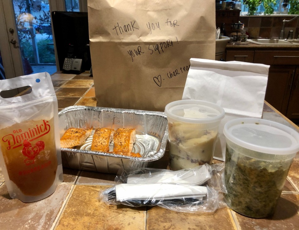 <strong>This meal was neatly packed and easy to reheat.</strong> (Jennifer Biggs/Daily Memphian)