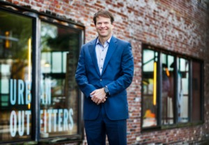 <strong>Hulet Gregory of Gregory Realty recently purchased the 20,000 square foot shopping center at the southeast corner of Central and Cooper that is anchored by Urban Outfitters. Gregory looks for Amazon-proof commercial properties to purchase, and he now has 30 commercial properties in the area.</strong> (Mark Weber/ The Daily Memphian)