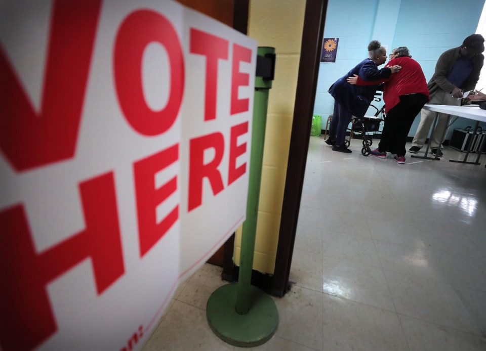 <strong>Voters go to the polls on March 3, 2020. There has been some late movement in several of the August races.</strong> (Jim Weber/Daily Memphian)&nbsp;