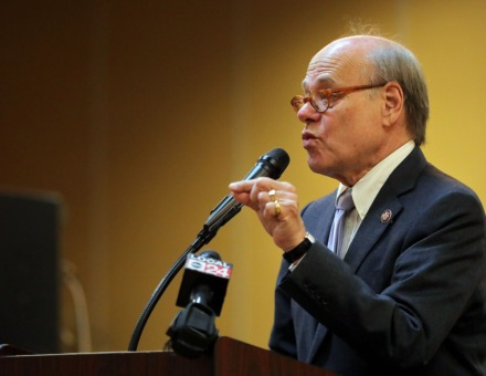 <strong>&ldquo;We&rsquo;re going to have a recession,&rdquo; U.S. Rep. Steve Cohen said Tuesday, April 7, during a conference call with reporters. &ldquo;We will do what we can to help people,&rdquo; said the Memphis Democrat (shown&nbsp;during Myron Lowery&rsquo;s 29th annual prayer breakfast Jan. 1, 2020).</strong> (Patrick Lantrip/Daily Memphian file)