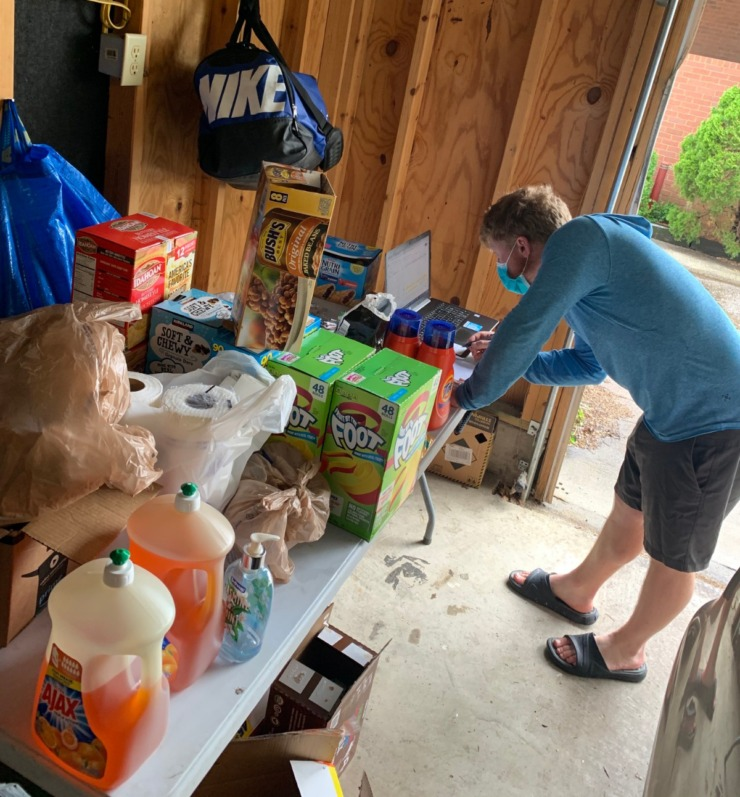 """<strong>Members of Memphis Inner City Rugby donate goods and food to local rugby athletes. The balls and ropes are for week&nbsp;3 of MICR&rsquo;s &lsquo;100 Challenge&rsquo;."""" </strong>(Submitted/Justin Miller)"""