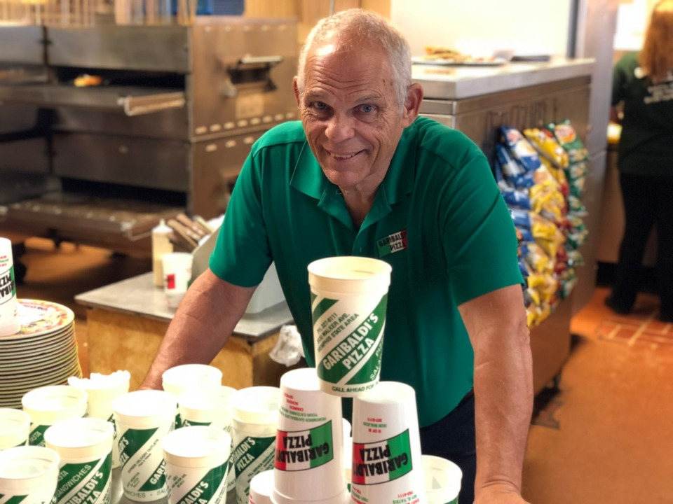 <strong>Mike Garibaldi says his company has been thorugh 3.5 million takeout cups since 1995.</strong> (Jennifer Biggs/Daily Memphian)