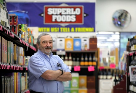 <strong>Owner Randy Stepherson poses for a portrait in his East Memphis Superlo Foods store April 8, 2020.</strong> (Patrick Lantrip/Daily Memphian)